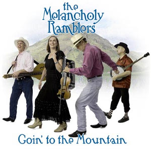 CD cover Goin' to the Mountain by The Melancholy Ramblers.